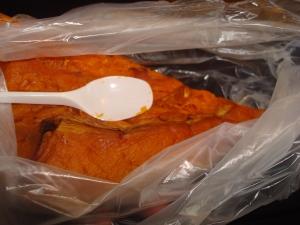 Roast Pumpkin To-Go by the Slice
