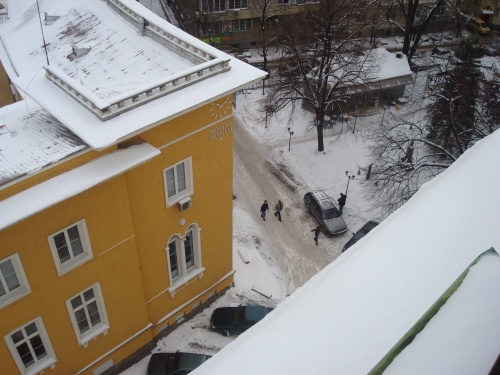 The view from my Sofia University Classroom