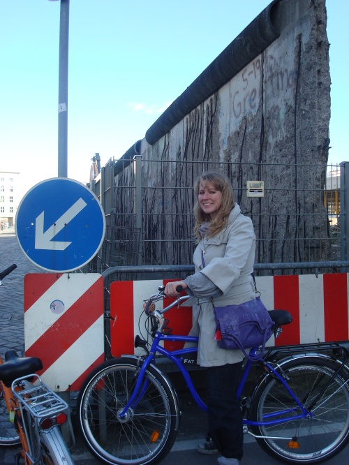 The Berlin Wall on my bike tour