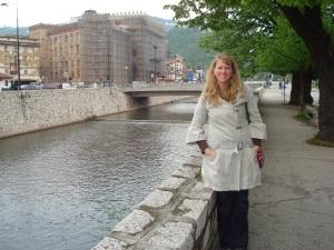 Me in Sarajevo