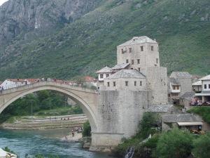The beautiful Mostar Bridge