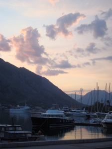 Kotor at Sunset