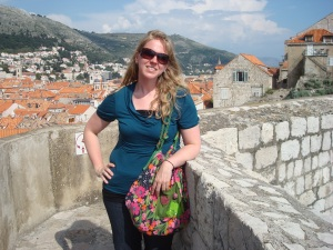 Me in Dubrovnik from the city walls