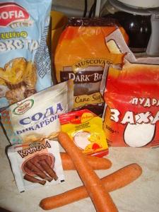 My ingredients