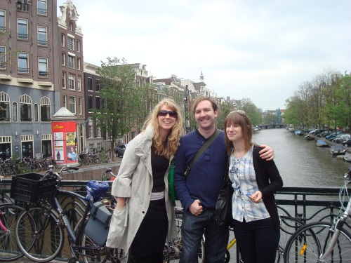 Amsterdam with Nick and Betsy