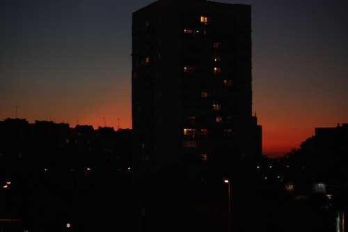 Mladost at Sunset